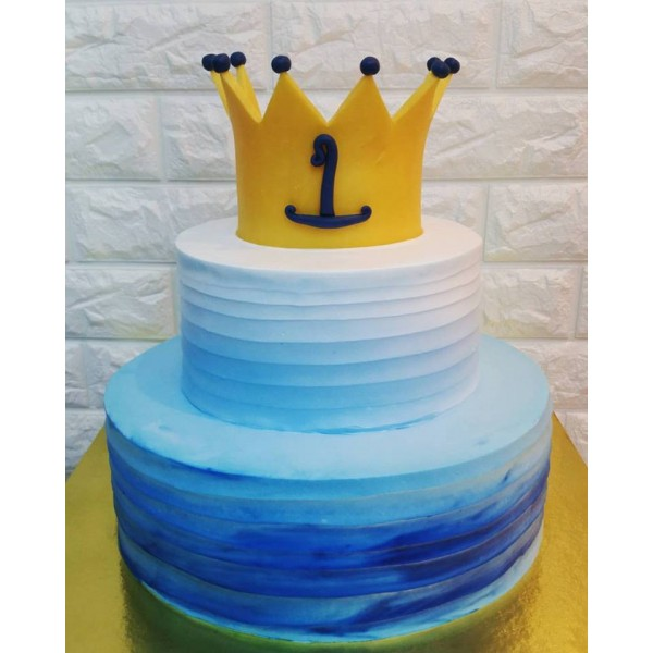 Blue with Crown Theme