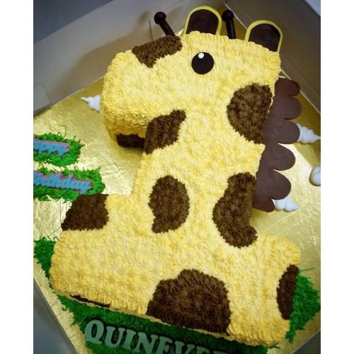 No 1 Shape Giraffe